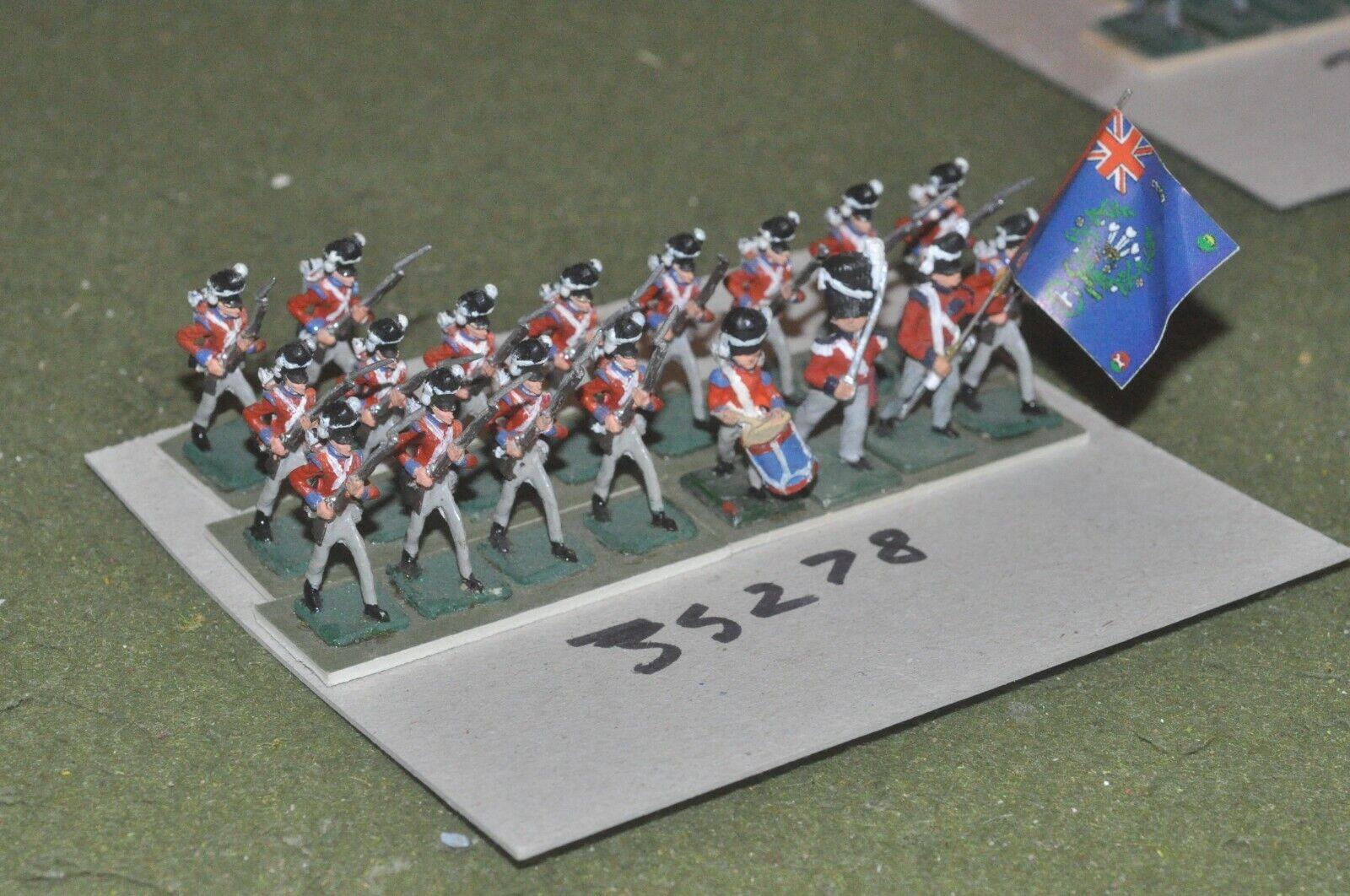 25mm napoleonic   british - line 18 figures - inf (35278)