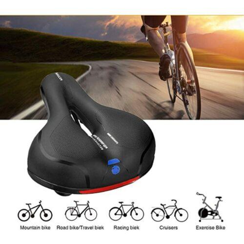 Bike Seat Pad Most Comfortable Memory Foam Waterproof Bike Saddle Bicycle Fit