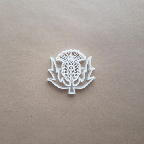 Thistle Flower Plant Shape Cookie Cutter Dough Biscuit Pastry Fondant Sharp