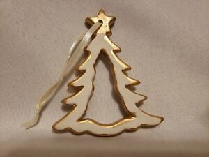 Oriental Trading Christmas.Details About Lot 11 Gold White Ceramic Christmas Tree Ornaments Oriental Trading Company
