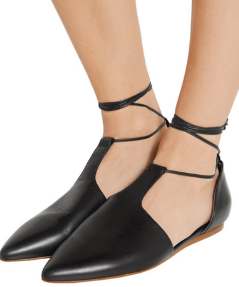 Btuttiet ITALY sautope donna Flats Leather nero D'Orsay