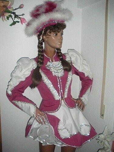 Arenz Gardekostüm Gardeuniform Tanzgarde Faschingskleid mit Hut Hut Hut und Petticoat 8f082a