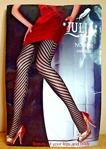 Julia-Fishnet-Stockings-Black-Tights-Stretchy-Mesh-Tights-One-Size-New-Tights