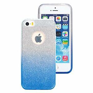 cover iphone se blu