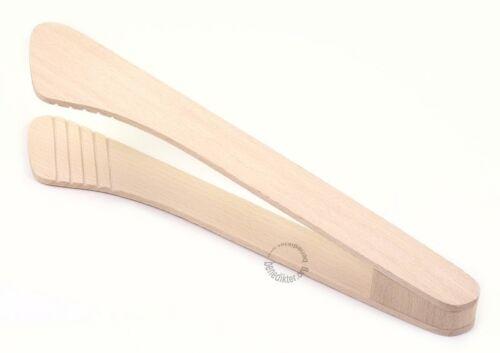 Holzzange 30 cm avec large Préhension Surface Koch-Pince Poêles-Spatule kochzange
