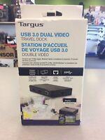 Targus USB 3.0 Dual Video Travel Dock BRAND NEW! Mississauga / Peel Region Toronto (GTA) Preview