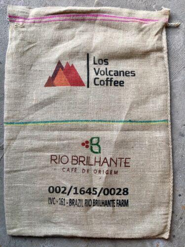 Burlap CLEAN Coffee Bean Bag Gunny Sacks Guatemala