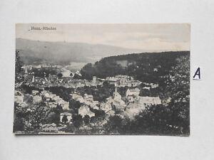 Carte Postale Vue Carte Saxe. Hann-déboucher-ünden Fr-fr Afficher Le Titre D'origine