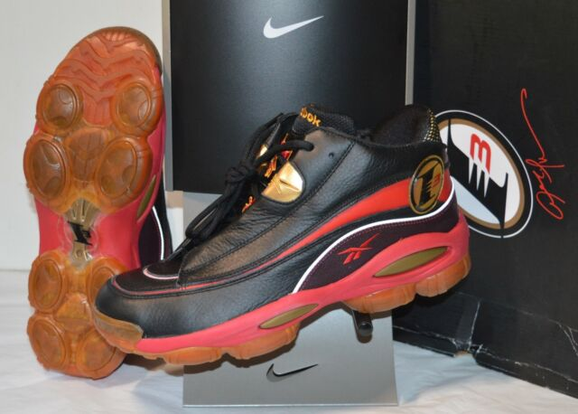 1f5415177298 Reebok The Answer DMX 10 J02565 Men Black Red Gold Athletic Basketball  Shoes 11.5