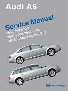 audi a6 c5 service manual 1998 1999 2000 2001 2002 2003 2004 rh ebay com audi a6 c5 manual transmission swap audi a6 c5 manual gearbox oil