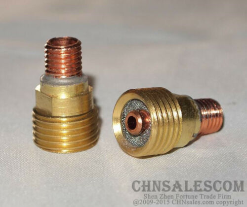 "48 pcs TIG Welding Kit Gas Lens for Tig Welding Torch WP-9 WP-20 WP-25 WP 1//16/"""