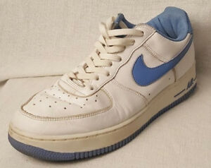 Details about VINTAGE RETRO Nike Air Force 1 ONE LOW WHITE 624040 41 RARE 2002 (SIZE 12)