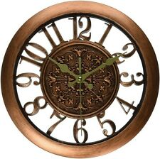Wall Clock Home Decor Retro Large Numbers Design Office Kitchen Living Steampunk