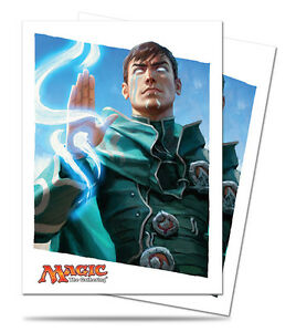 80ct-Jace-Planeswalker-Art-Deck-Protector-Card-Sleeves-MTG-Ultra-Pro-66-x-91mm