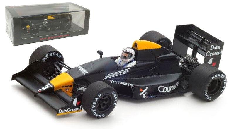 Spark S4862 Tyrrell 017 th Monaco GP 1988-Jonathan Palmer 1 43 Escala