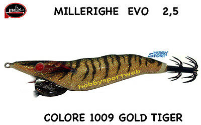 NEW MOLIX MILLERIGHE EVO EGI 2.5 TOTANARA//SEPPIARA 2.5 COL.#1009 GOLD TIGER