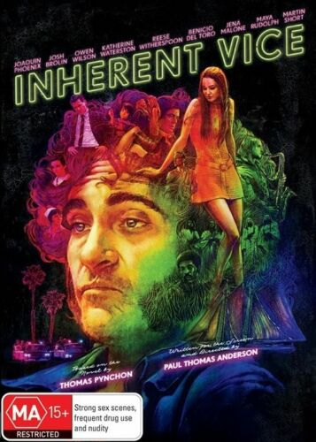 1 of 1 - Inherent - Joaquin Phoenix Vice NEW R4 DVD