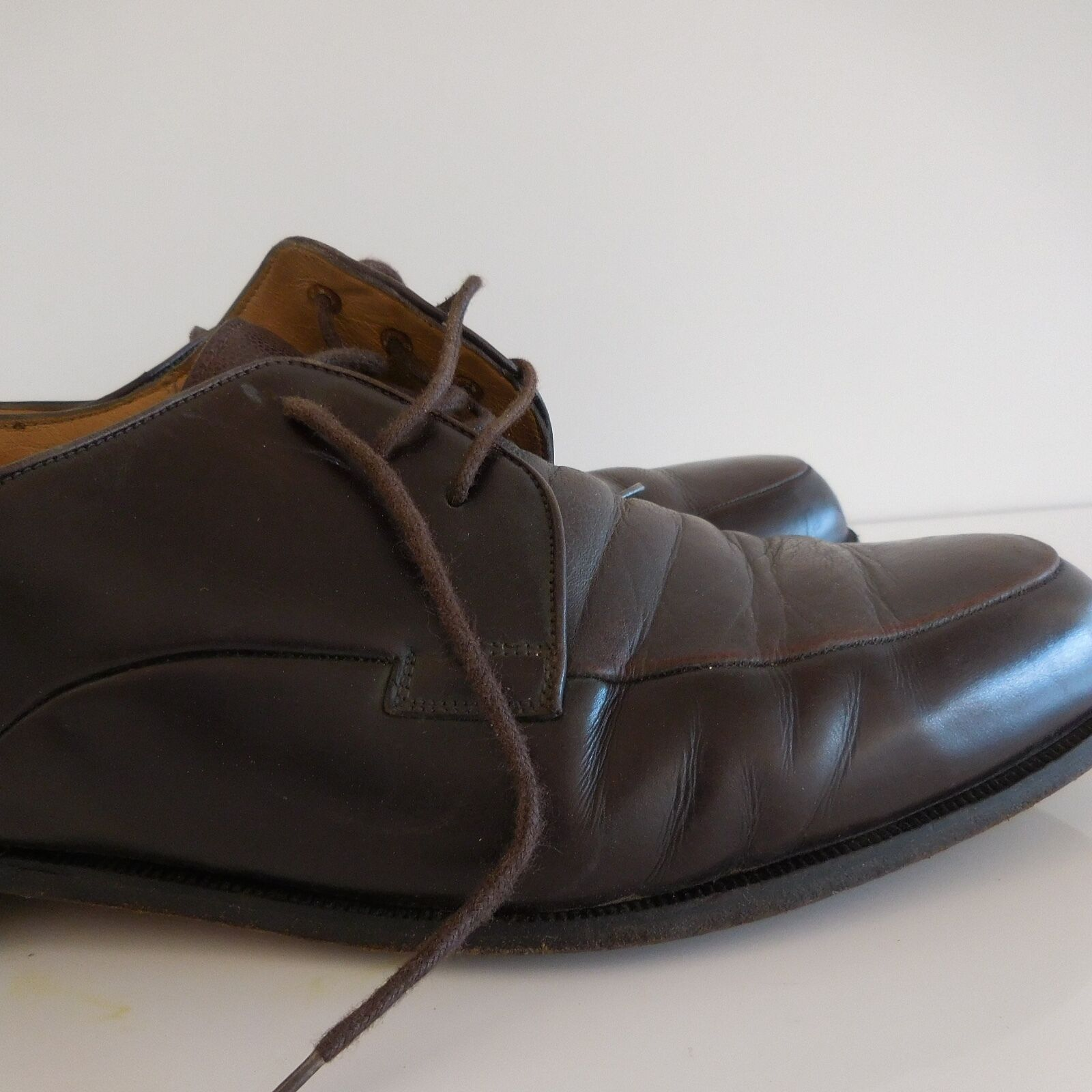 Xxème Cuir Bally Vintage Italy Chaussures In Martore Made kuPZOXi