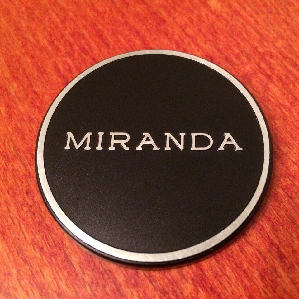 Objektivdæksel, Fuji, Miranda
