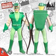 SUPER POWERS SERIES 1; GREEN ARROW 8 INCH FIGURE POLYBAG FIST FIGHTER MEGO