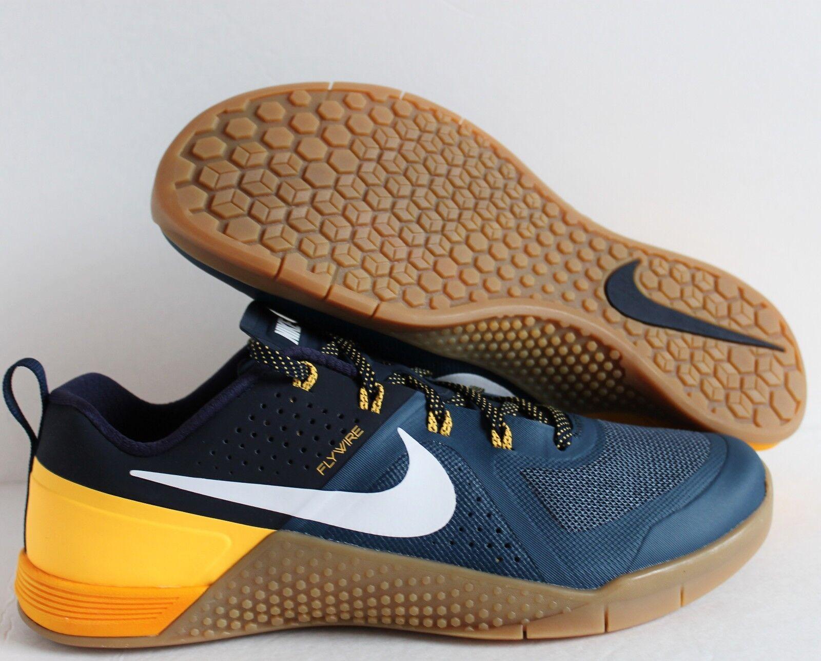 Nike metcon 1 12,5 squadriglia blue-white-obsidian-laser orange sz 12,5 1 - 704688-410] ec7aa3