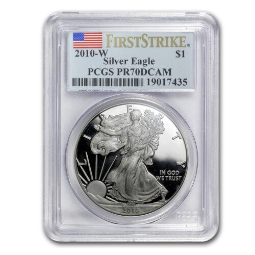 2010-W Proof Silver American Eagle PR-70 PCGS (FS) - SKU #60225