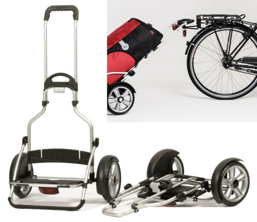 Andersen Royal Shopper Plus Gestell faltbar Alu Fahrrad-Anhänger Einkaufstrolley