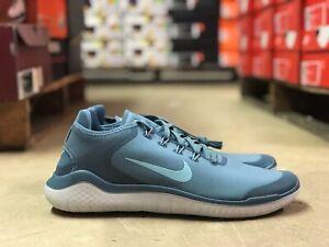 01e5cd92f7ad7 Nike Free RN 2018 SUN Mens Running Shoes Blue White AH5207 400 NEW ...