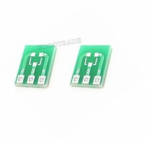 100Pcs-Double-Side-Smd-SOT23-3-To-Dip-SIP3-Adapter-Pcb-Board-Converter-b