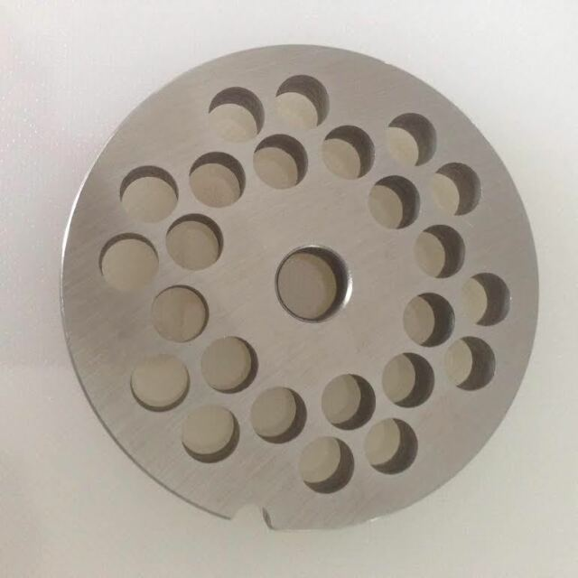 Piastra acciaio inox TC 12 4352 A Reber tritacarne 4 6 8 10 12 14 16 18 20 mshop