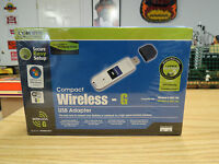 Linksys Wusb54gc Compact Wireless-g Usb Network Adapter, Brand /