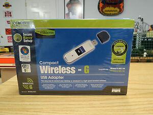LINKSYS WUSB54GC WIRELESS G USB DRIVER WINDOWS