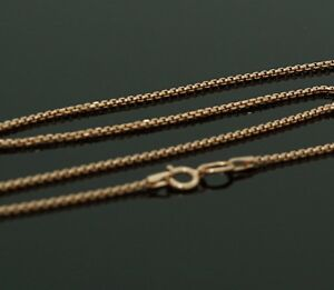 585//14 Ct Rose Gold Necklace