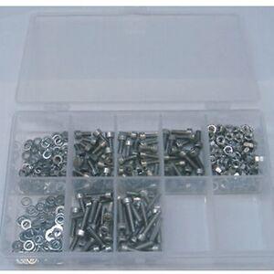 Innensechskantschrauben Sortiment 400 Teile DIN 7991 EDELSTAHL A2 M4