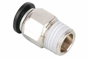 "EPC8-01 Straight Inlet 8mm Silver Tube 1/8"" PT Thread 5 for $3.60"