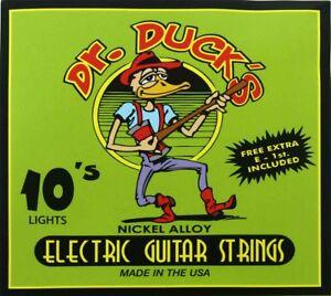 dr duck 39 s light gauge electric guitar strings medium light 010 046 647855100051 ebay. Black Bedroom Furniture Sets. Home Design Ideas