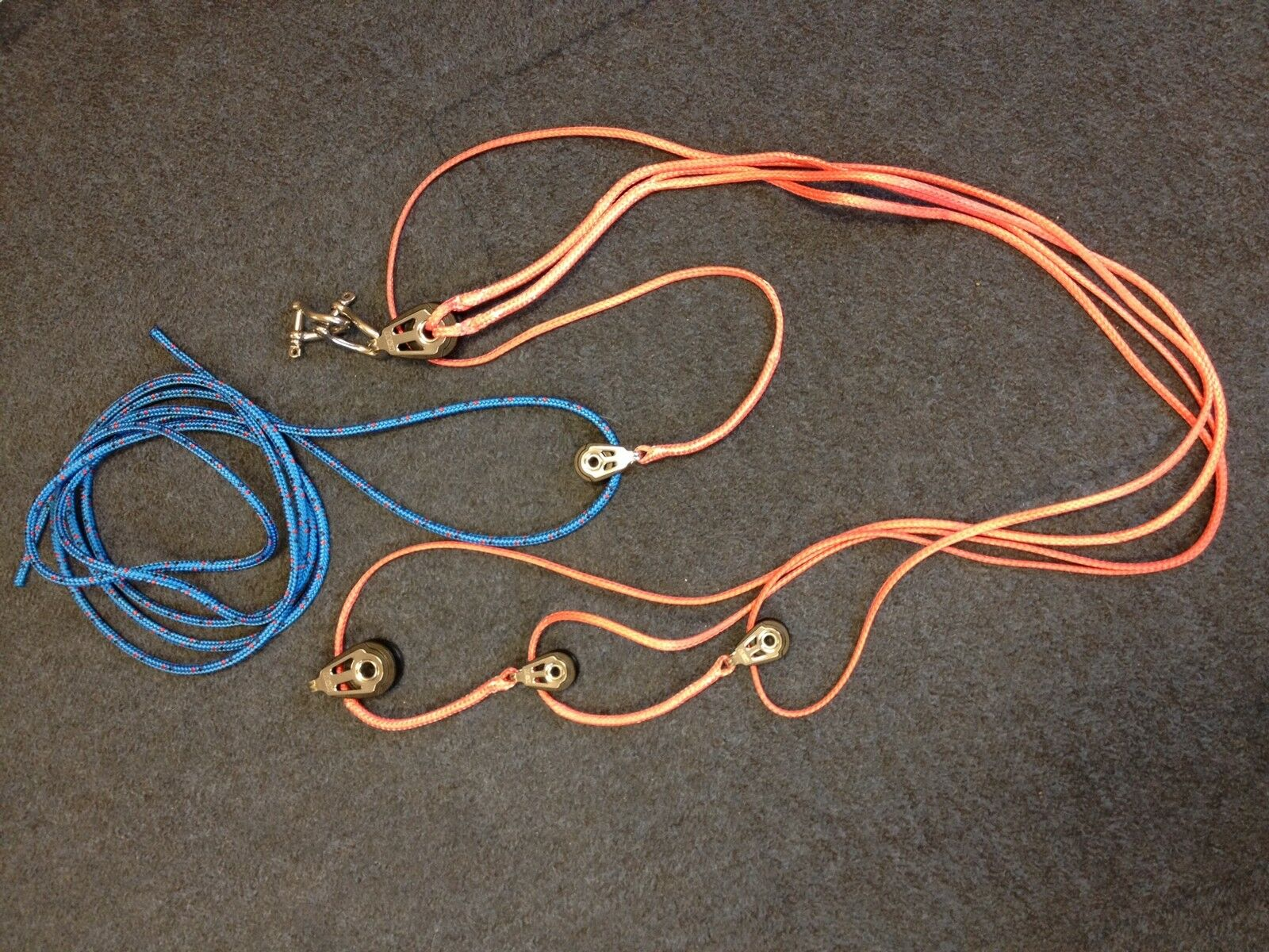 Holt Complete 420 Race Vang Assembly With Rope   HT7503