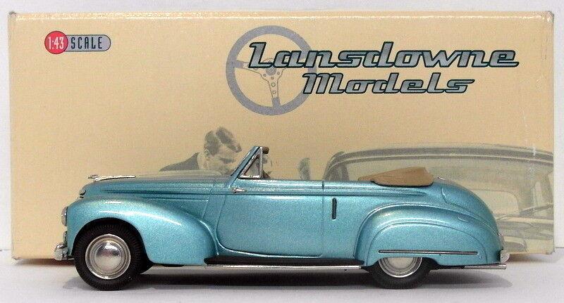 Lansdowne Models 1 43 Scale LDM86 - 1950 Humber Super Snipe DHC - Metallic Grün