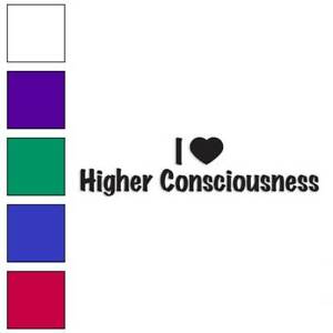 I-Love-Higher-Consciousness-Decal-Sticker-Choose-Color-Size-3511