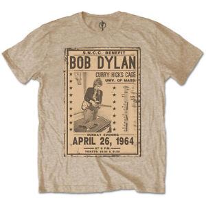 Bob-Dylan-Flyer-Official-Merchandise-T-Shirt-M-L-XL-Neu