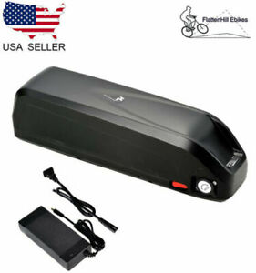 36v Li-ion Battery Hailong2 Case Electric Bike Ebike Kit USB Switch Cell Holder