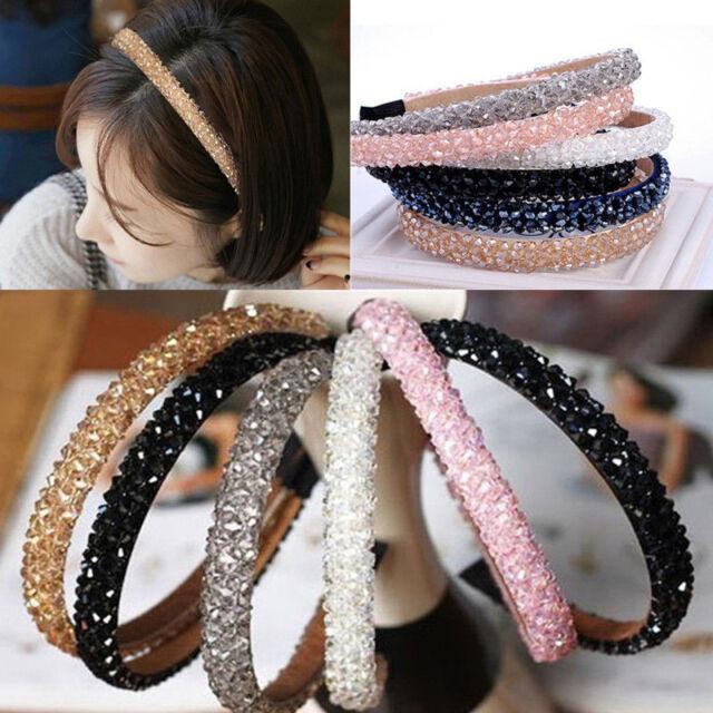 Beautiful Glitter Rhinestone Alice band Crystal Headband Hairband for girl women