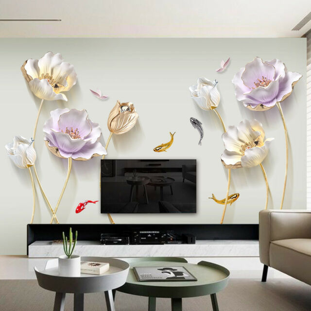Chinese Style Flower 3d Wallpaper Wall Stickers Living Room Bedroom Bathroom For Sale Online Ebay,Fractal Design Define 7 Atx Mid Tower Case