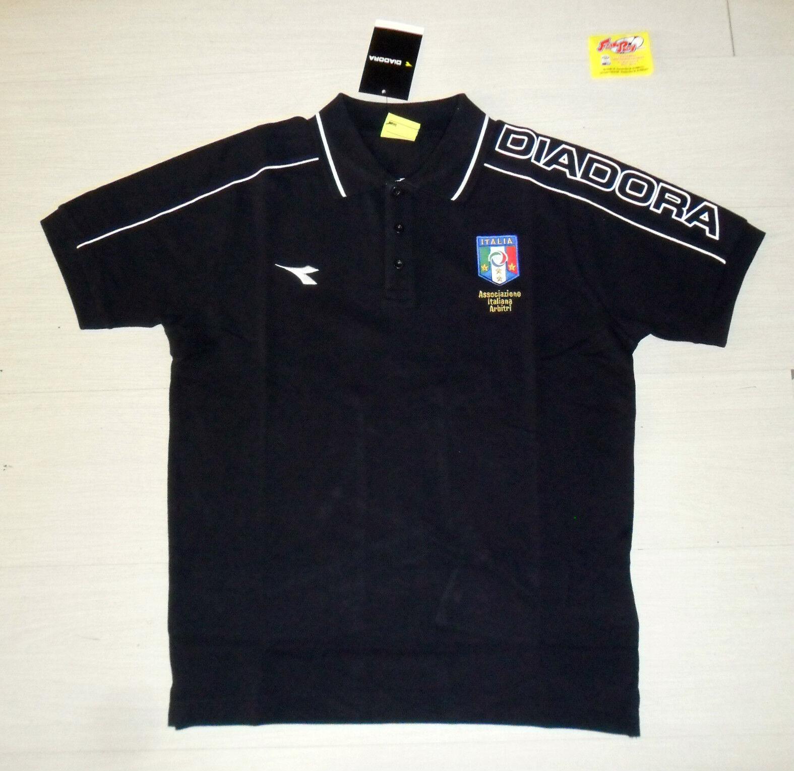 10024 TG. XL POLO RAPPRESENTANZA  ARBITRO ARBITRO ARBITRO AIA ITALY REFREE FREE TIME SHIRT a822ed