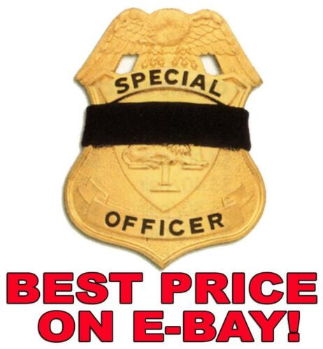 """BADGE SHIELD MOURNING BAND BANDS 10-PACK 1//2/"""" WIDE MB1"""