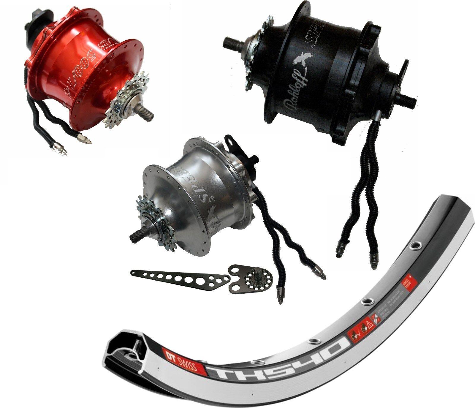 Laufrad mit Rohloff Speedhub Modell 8040   8041   8042 TS diverse Größen 20-28