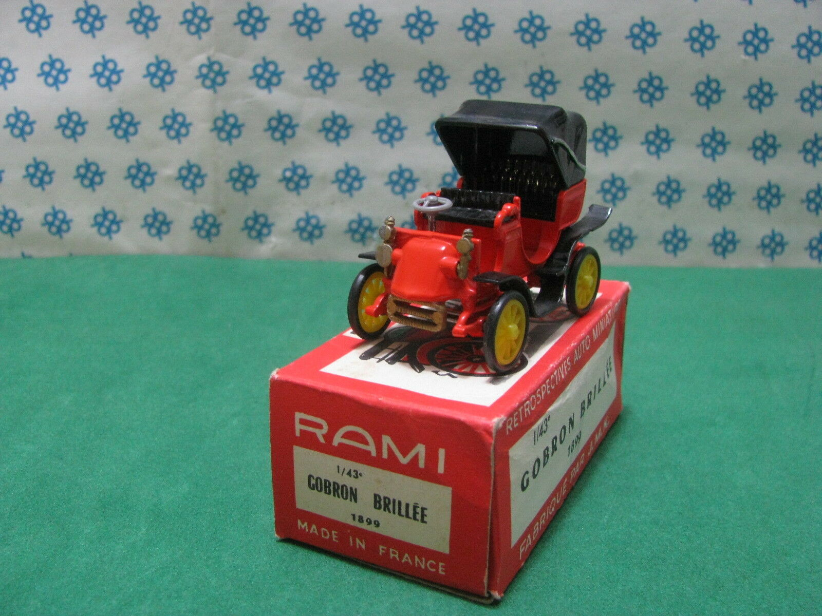Vintage rami-Gobron brillèe 1899 - 1 43 france 1961