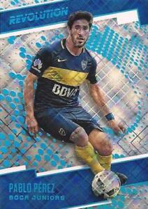 2017-Panini-Revolution-Soccer-Cosmic-Parallel-100-Boca-Juniors-165-169