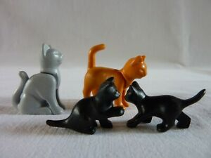 Playmobil Accessoire Décor Animal Lot Chat Roux 2 Chatons /& Accessoires NEUF