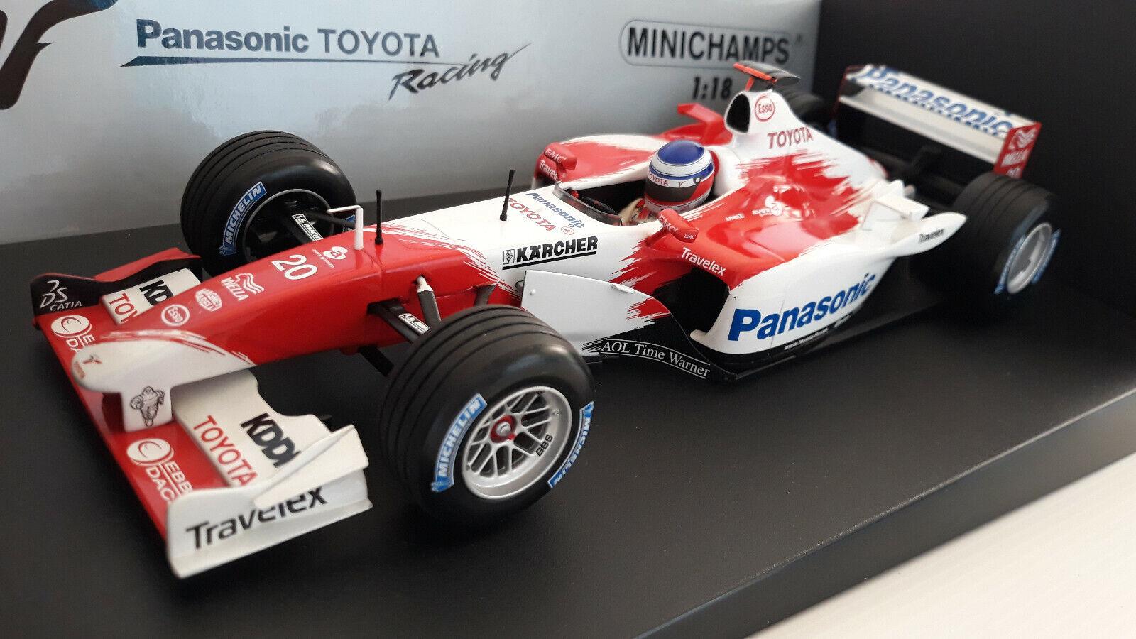 F1 TOYOTA PANASONIC TF103 de 2003 O.  PANIS au 1 18 MINICHAMPS 100030020 formule1  vente de renommée mondiale en ligne